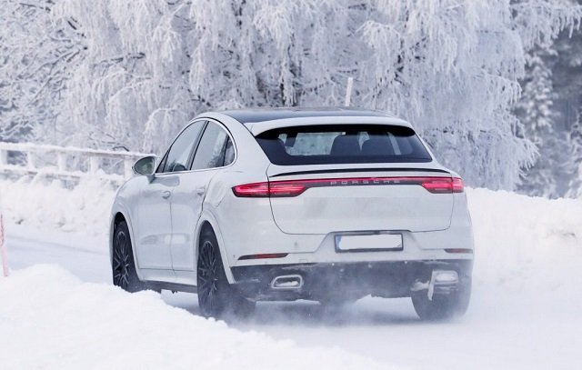 2021 Porsche Cayenne Coupe GT spy photos
