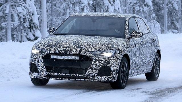 2021 Audi Q1 spied