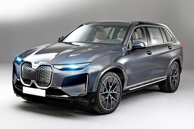2021 BMW iNext concept