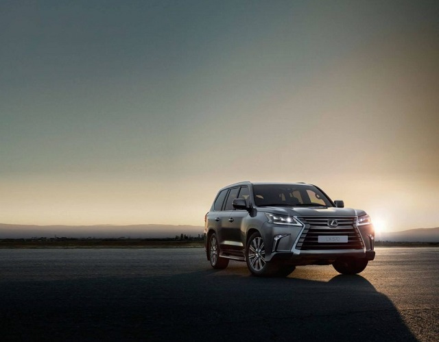 2021 Lexus LX i force max
