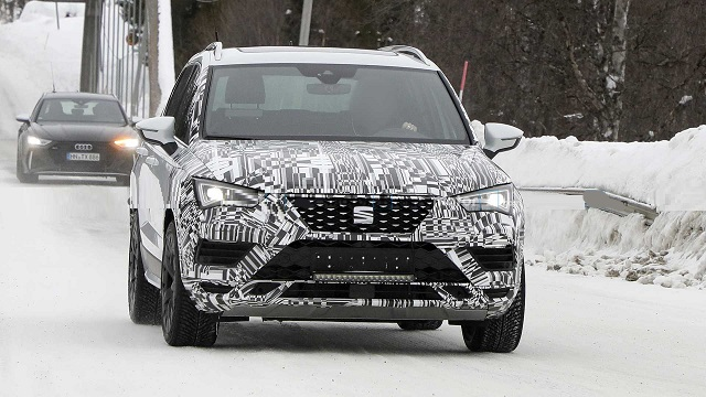 2021 SEAT Ateca spy photos