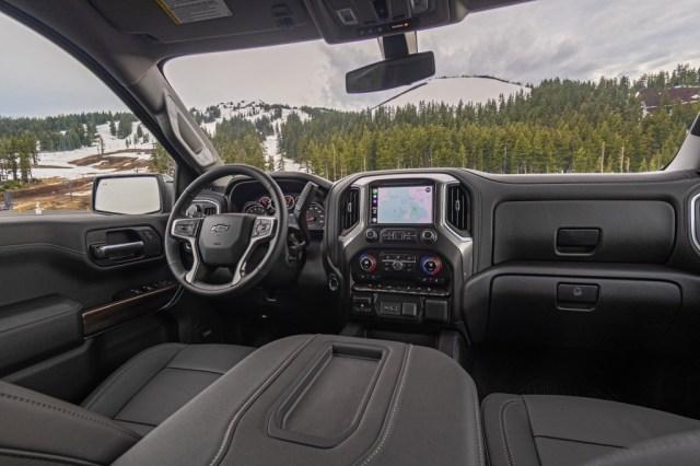 2021 Chevrolet Suburban rst interior