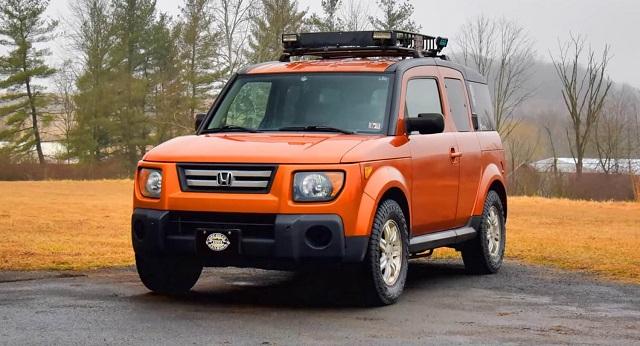 2021 Honda Element To Compete Jeep Baby Wrangler