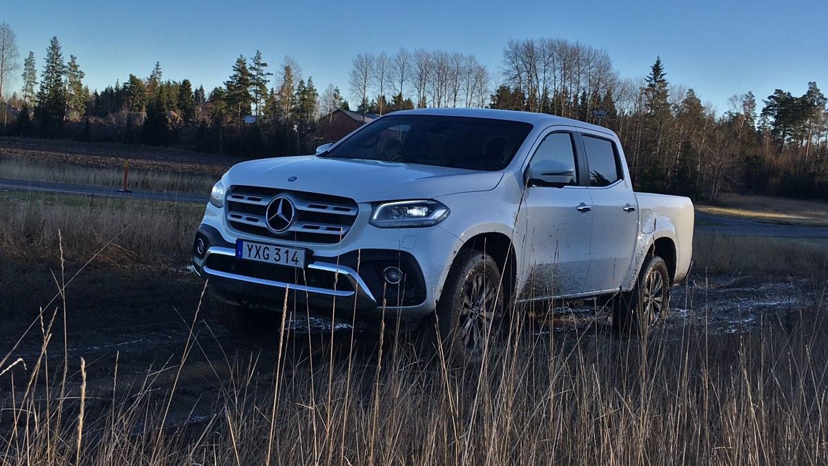 Mercedes-Benz X 250 d: Pressvisning Sverige