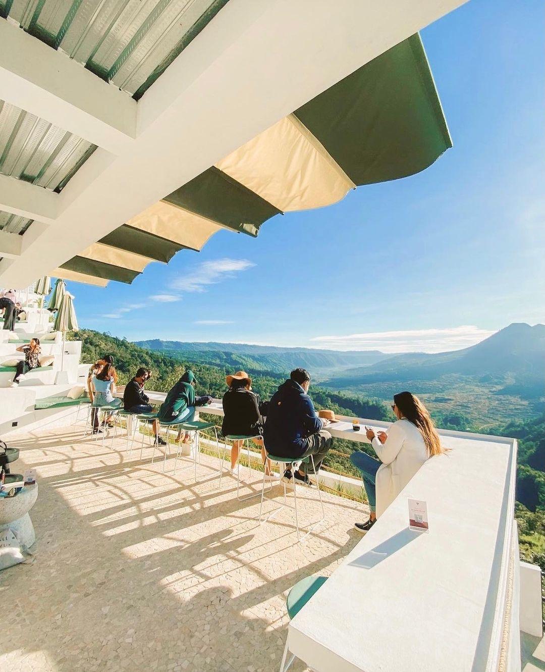 Cafe Di Kintamani View Gunung