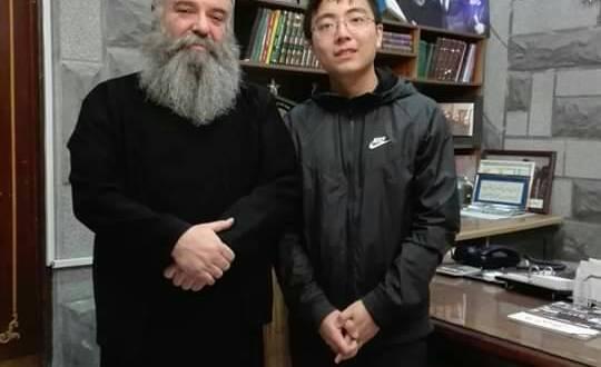 ممثل UNHCR ،وصحفي صيني بضيافة دار الطائفة في السويداء