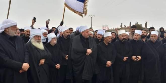 الإفراج عن معتقل من دروز الأردن بجهود رجال الكرامة ..!