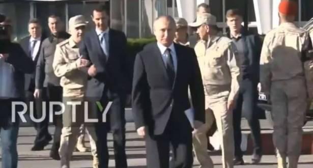 """بعد """"المندوب السامي"""" بوتين يريد الاستيلاء على ما تبقى من سوريا .!"""