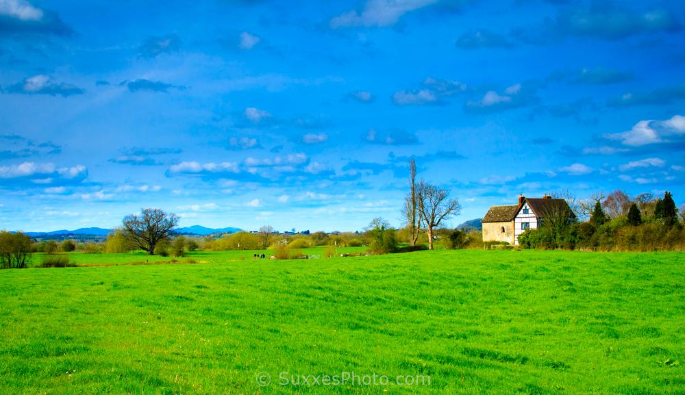 Oddas chapel Malvern Hills