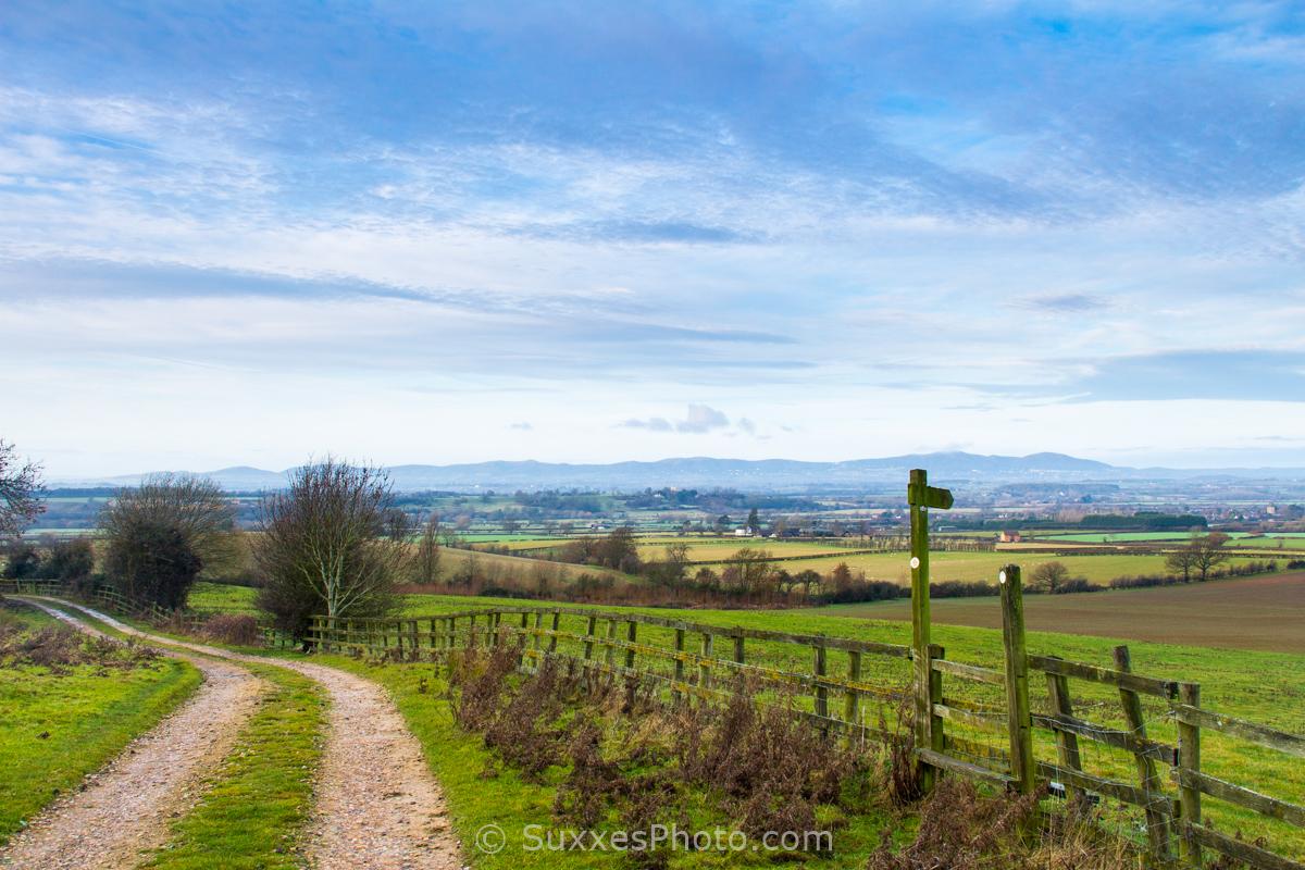 Bredon Hill Footpath