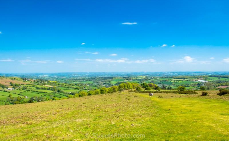 Offas Dyke Path Hergest Ridge