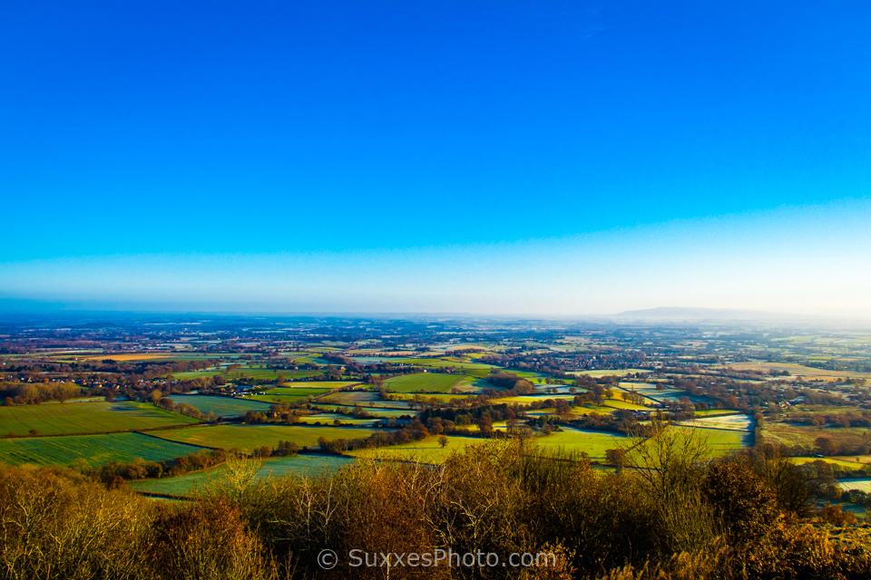 worcestershire plain malvern hills