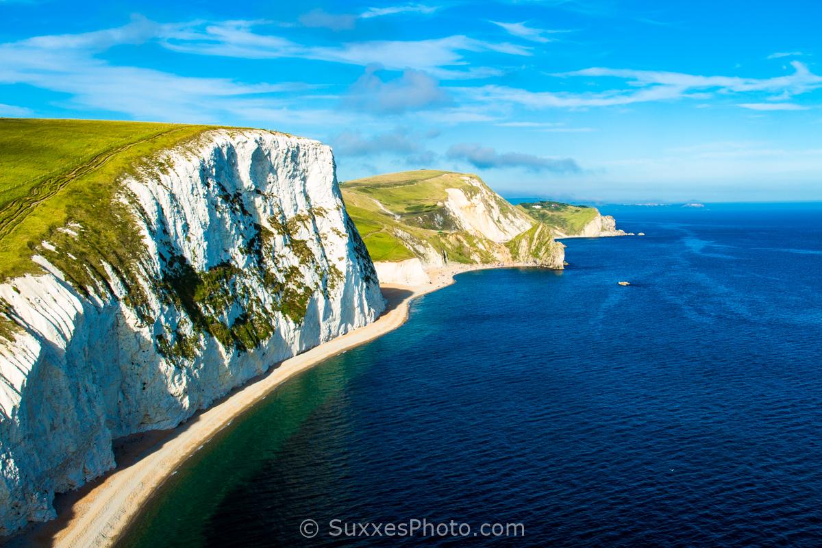 white cliffs dorset