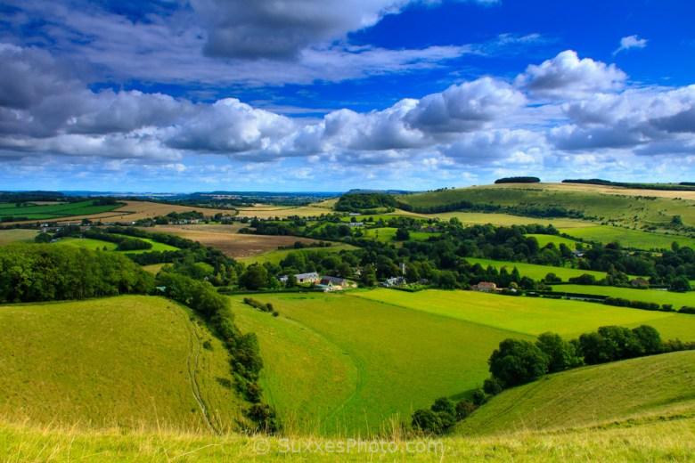 Melbury hill views dorset