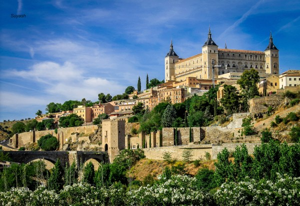 Inside Alcazar Toledo Spain