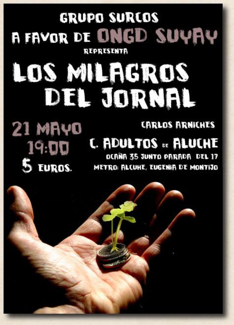 Obra de Teatro – Viernes 21 de mayo