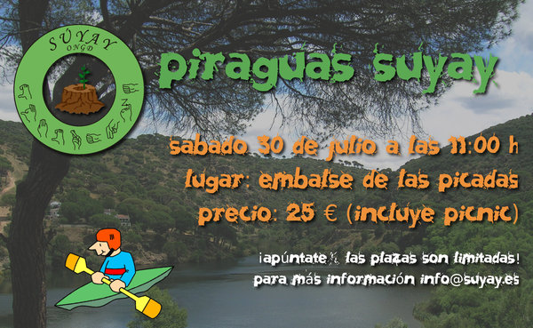 Dia de Piragüismo con Suyay