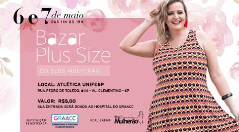 Bazar Plus Size de Dia das Mães do Blog Mulherão c9af29a6f4
