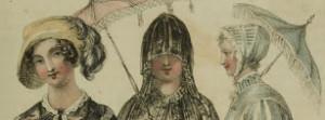 1810 from Ackermann, three types of headwear
