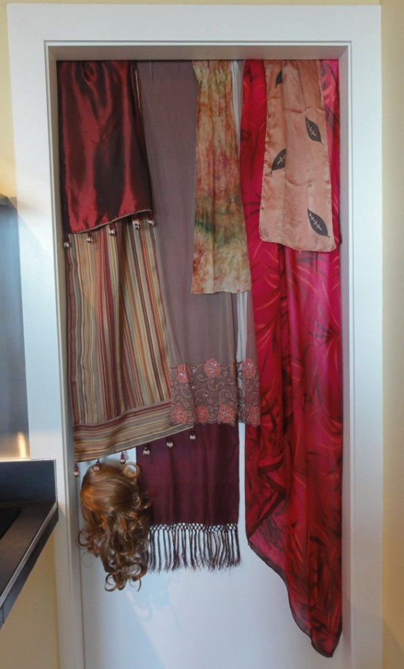 scarves table runner and pareo potential turban plus hair piece