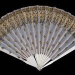 Fan, 1800-1815, French. Bone, silk, metal, wood. Brooklyn Museum Costume Collection at The Metropolitan Museum of Art.
