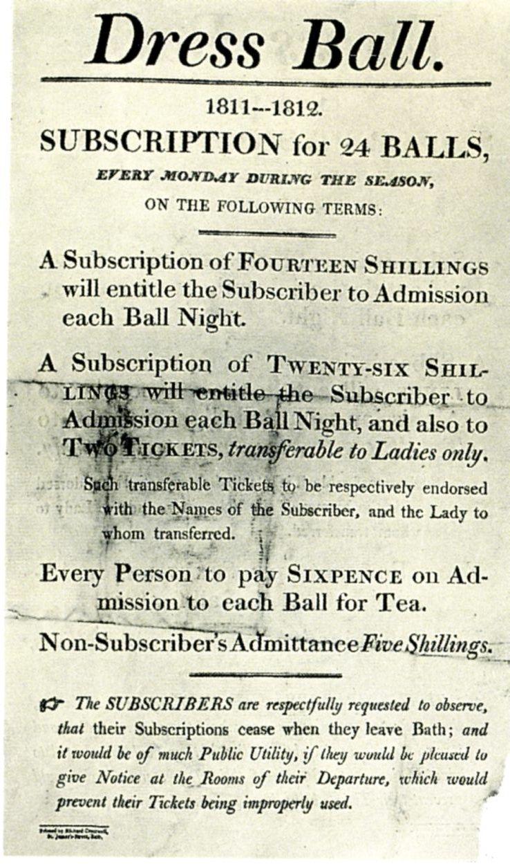 Bath Winter Assemblies voucher 1811-12