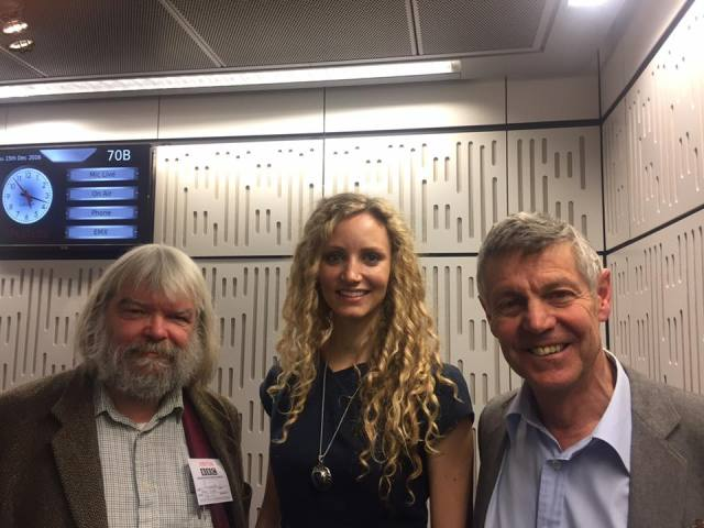 Malcolm Guite, Suzannah Lipscomb and Matthew Parris