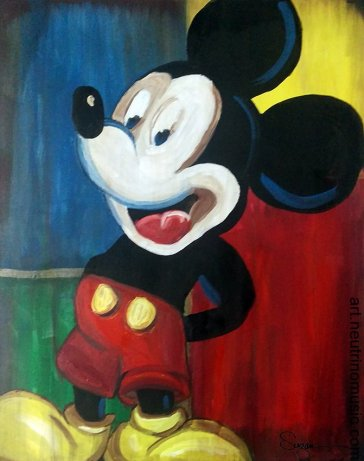 Acrylic Mickey Mouse