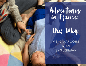 Moving to France to live for a year, Adventures in France; Slowing the treadmill