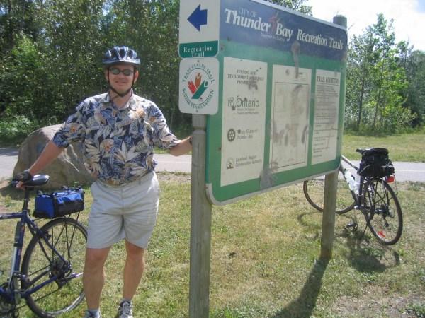 2005 Winnipeg Thunder Bay Olin And Suzanne' Cycling Trip