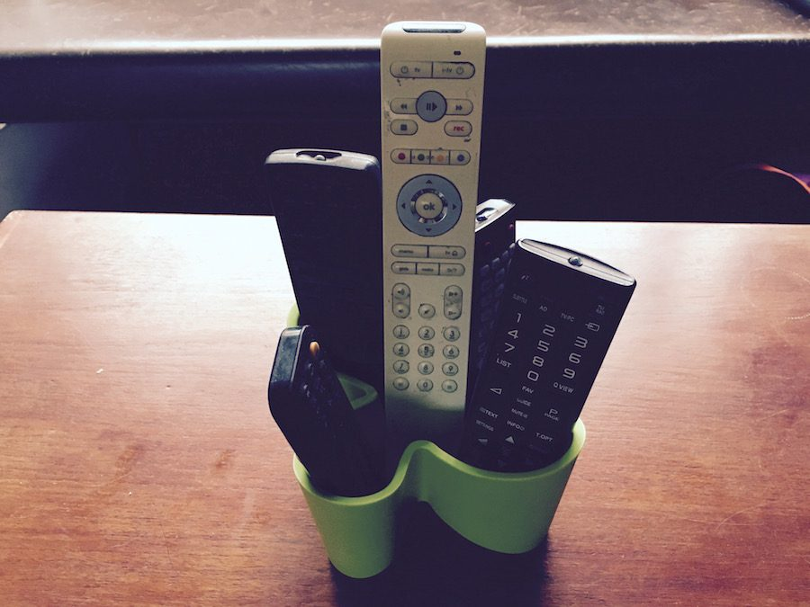 Cozy afstandsbedieningenhouder