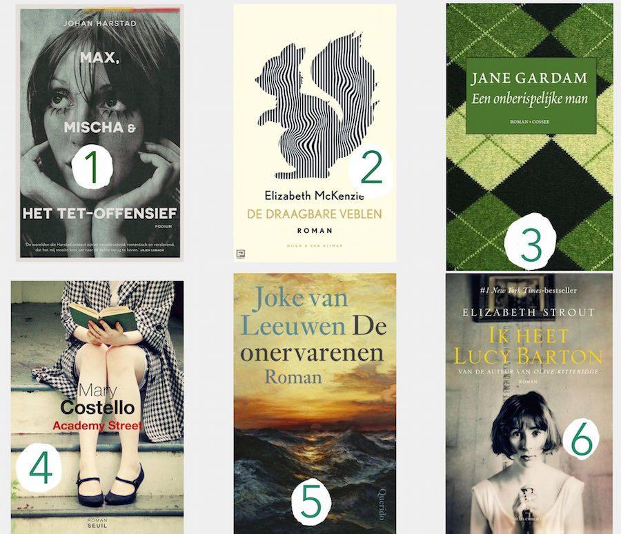 6 Favoriete boeken
