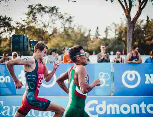 EK triatlon 2018 hardlopen