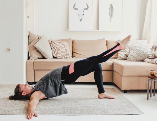 spierversterkende oefeningen - single leg hip extension