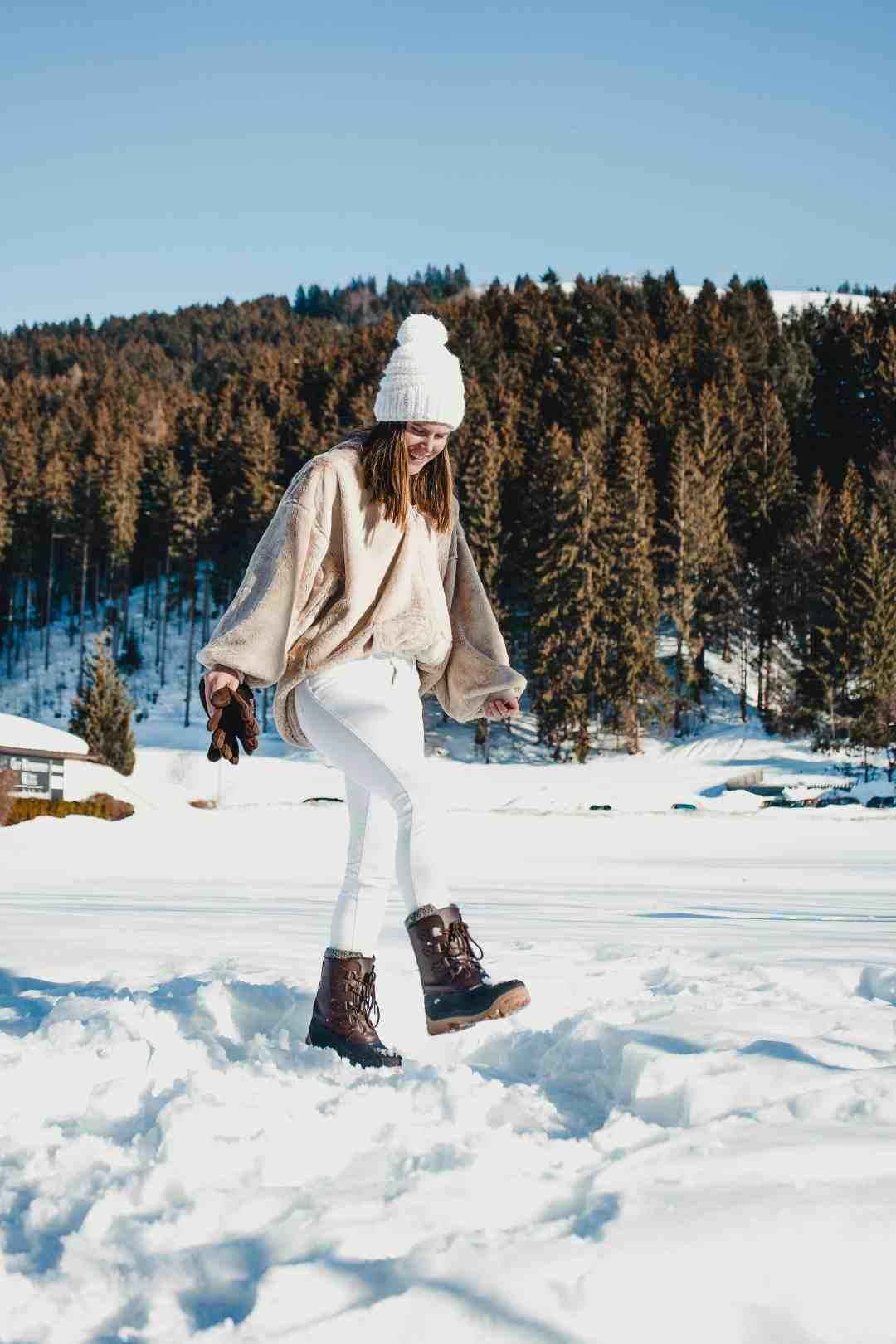 wandelen in de winter