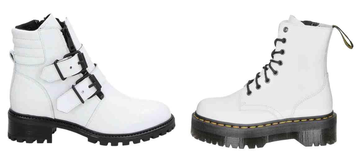 witte boots trend schoenen trends najaar 2019