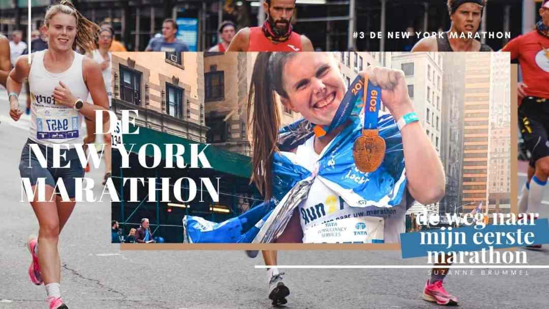 de new york marathon de weg naar mijn eerste marathon