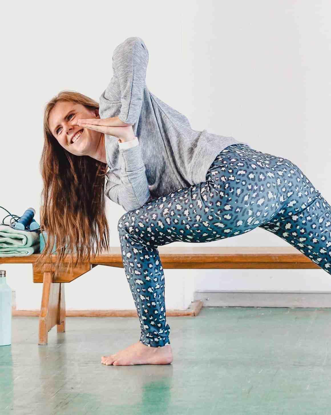 yoga sportdagboek 11