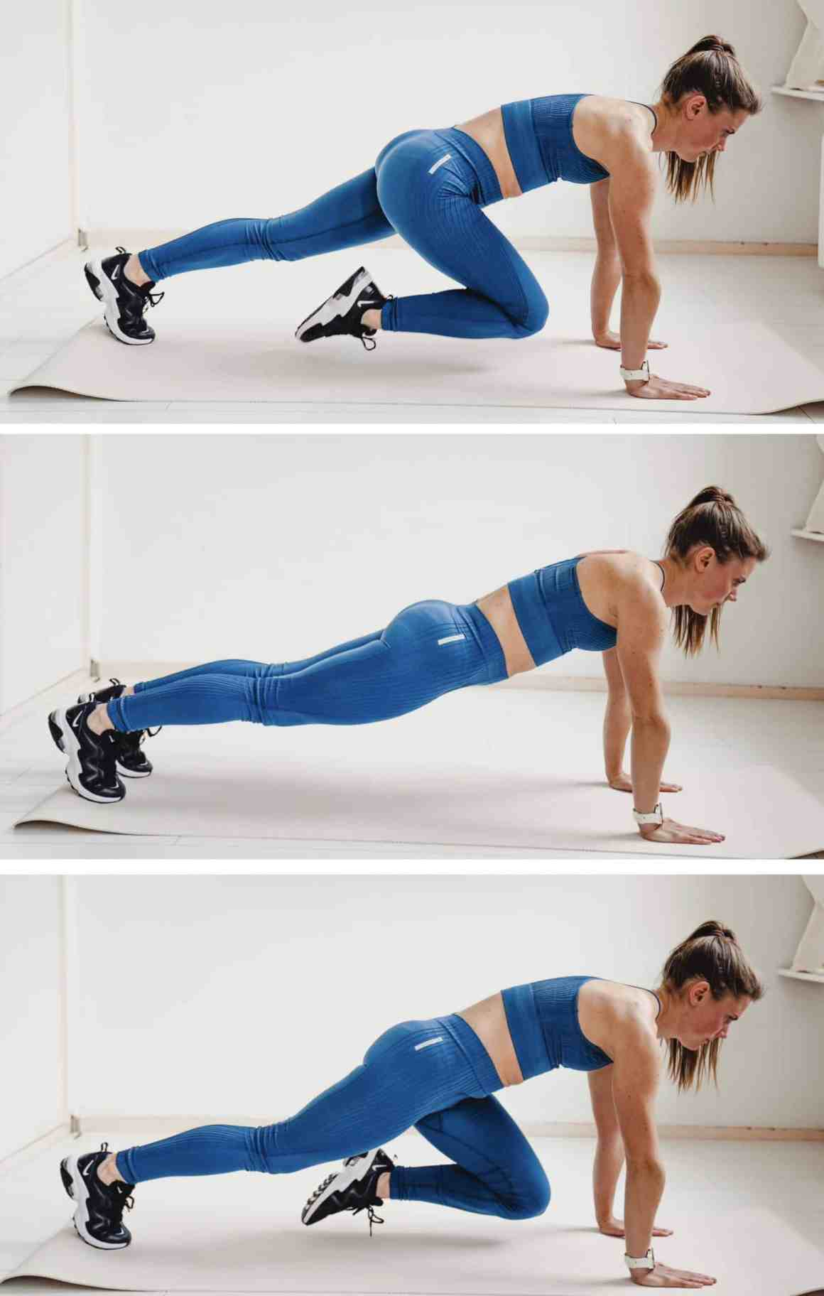 mountain climbers home workout