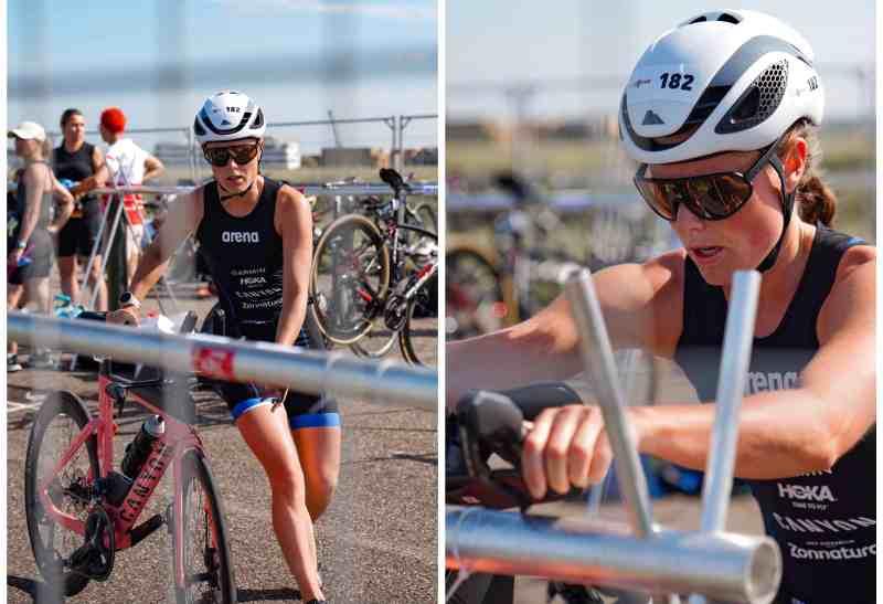 t2 triathlon wisselzone