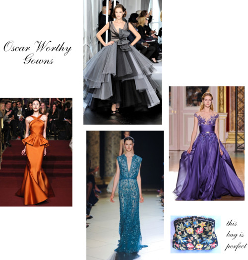 Oscar Worthy Gowns