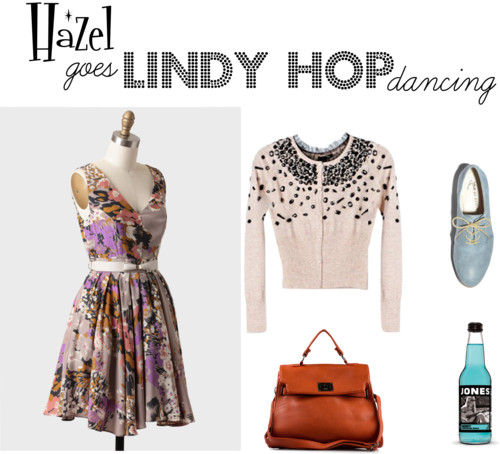 Hazel Goes Lindy Hop Dancing