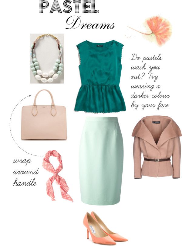How To Wear Pastels Without Washing Yourself Out