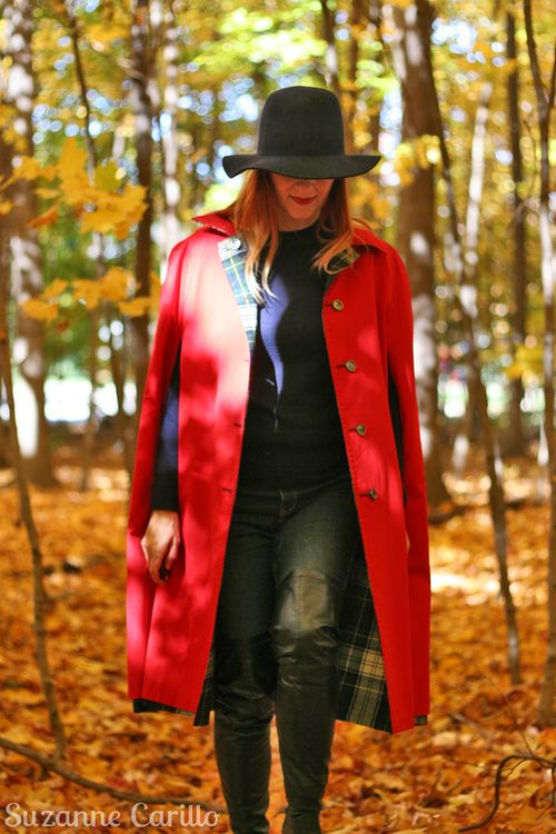 How to wear a vintage cape for fall suzanne carillo