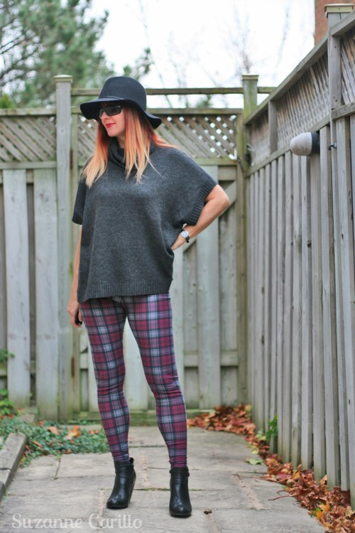 how to wear plaid skinnies for fall how to style plaid suzanne carillo