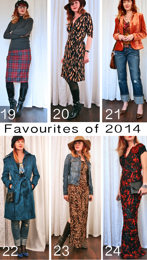My favourite outfits from 2014