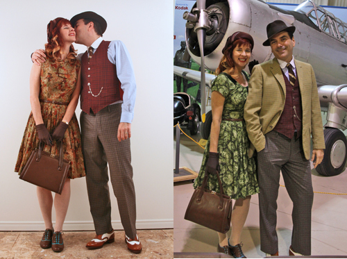 How to dress vintage as a couple.