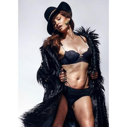 Cindy Crawford Untouched photo