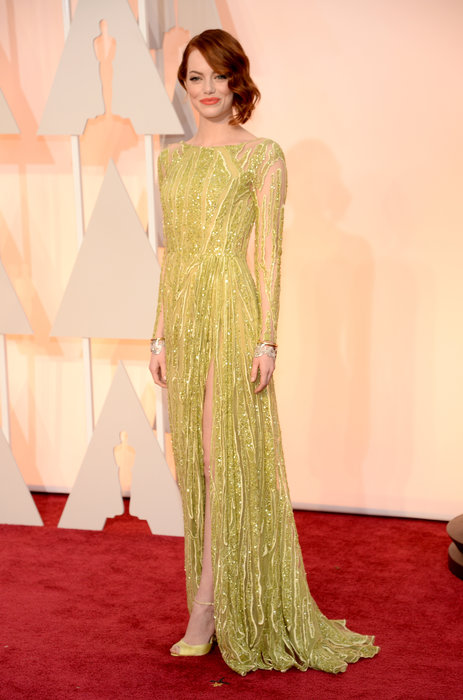 Emma Stone Oscar dress 2015