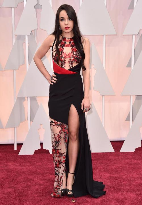 Lorelei Linklater Oscar Dress 2015